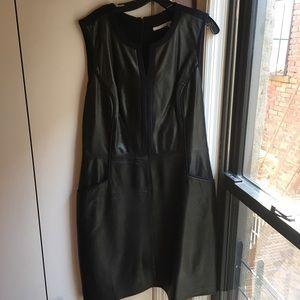Halogen Leather Dress